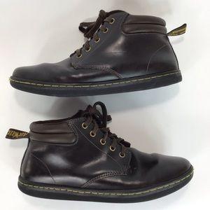 Dr Martens High top Sneaker boots Maleke Brown 10